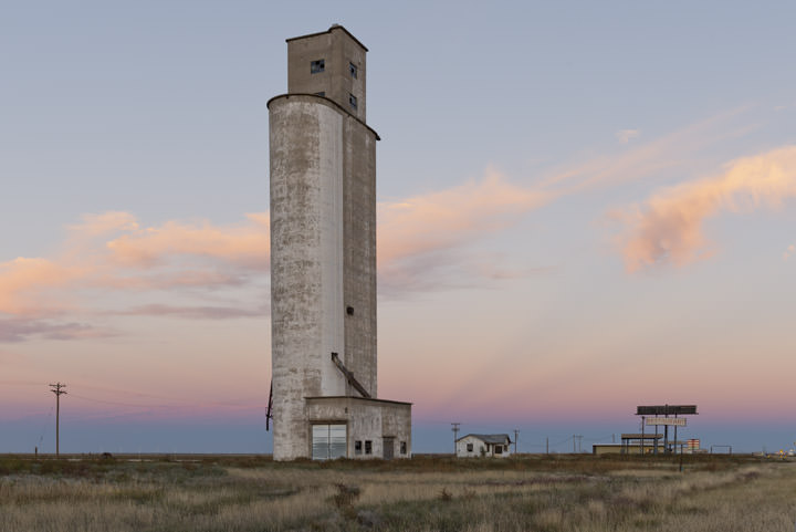 Grain Elevator 4 Landergin - Texas