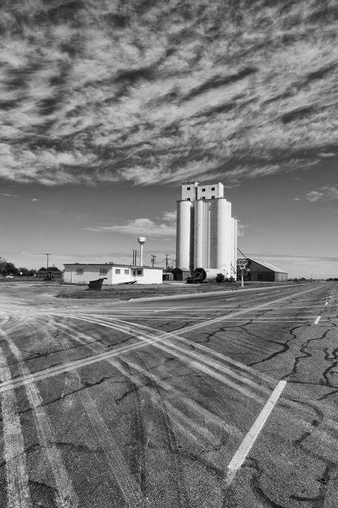 Grain Elevator -  Route 66 Adrian - Texas