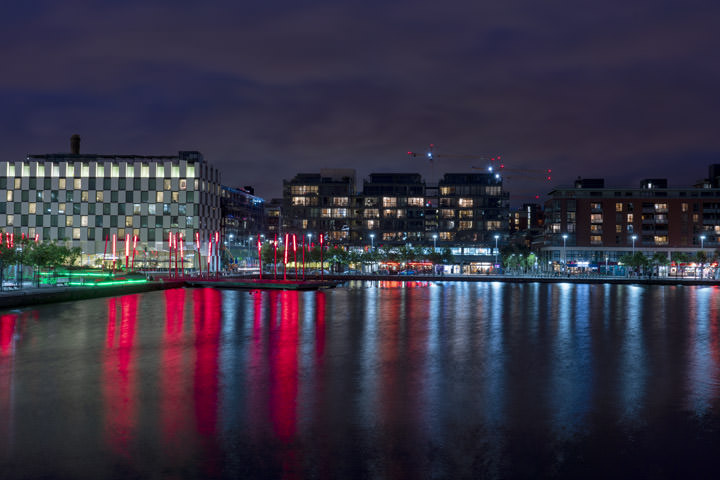 Photograph of Grand Canal Dock Dublin 3