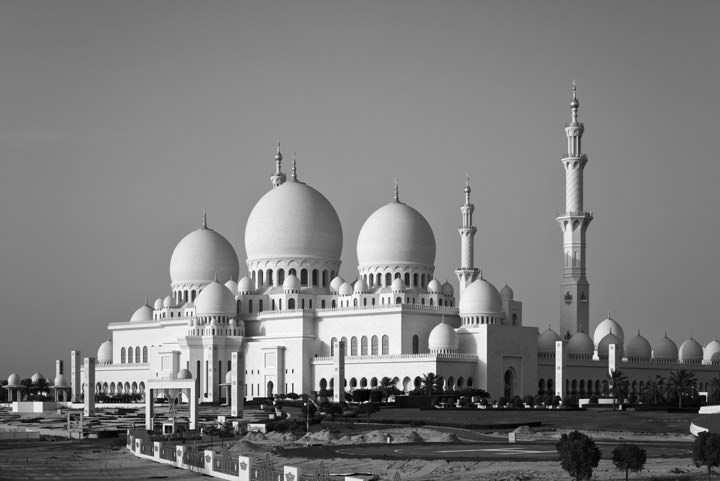Photograph of Grand Mosque  - Abu Dhabi 1