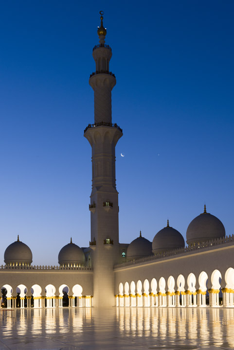 Photograph of Grand Mosque  - Abu Dhabi 11