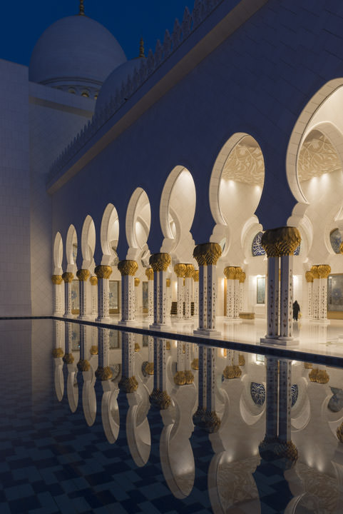 Photograph of Grand Mosque  - Abu Dhabi 16