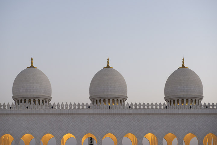 Photograph of Grand Mosque  - Abu Dhabi 20