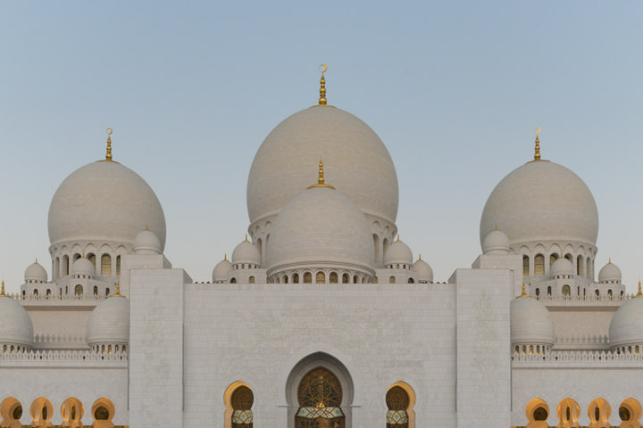 Photograph of Grand Mosque  - Abu Dhabi 21