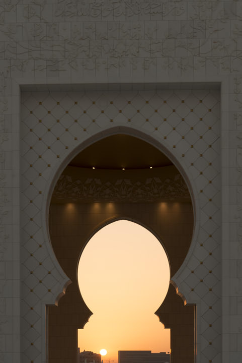 Photograph of Grand Mosque  - Abu Dhabi 23