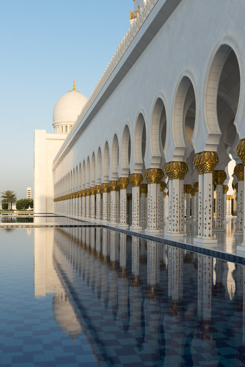 Photograph of Grand Mosque  - Abu Dhabi 29