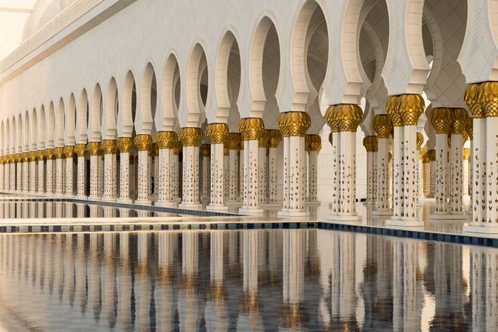 Photograph of Grand Mosque  - Abu Dhabi 30