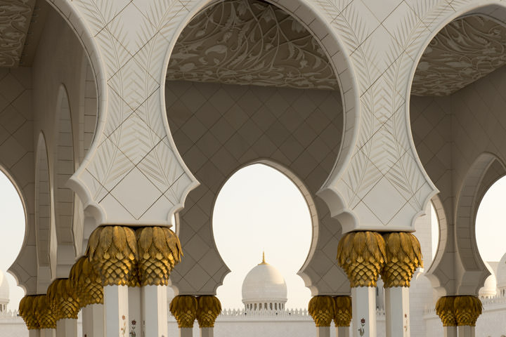 Photograph of Grand Mosque  - Abu Dhabi 31