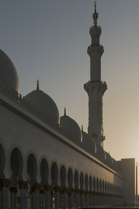 Photograph of Grand Mosque  - Abu Dhabi 33