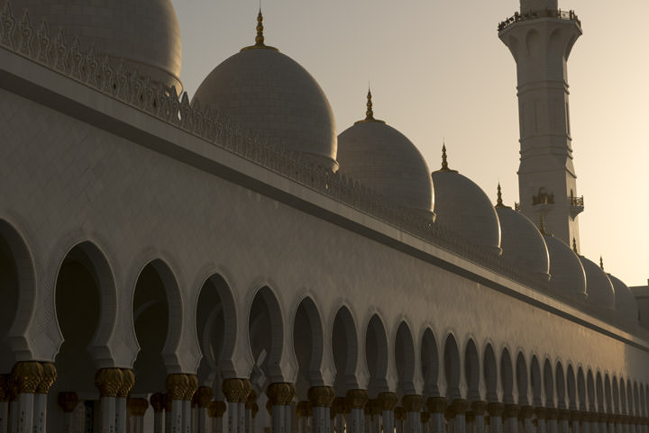 Photograph of Grand Mosque  - Abu Dhabi 34