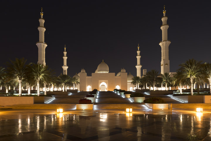 Photograph of Grand Mosque  - Abu Dhabi 36