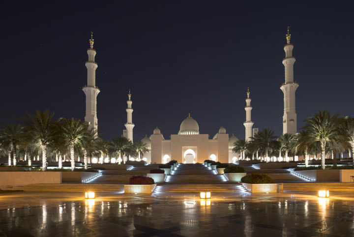 Photograph of Grand Mosque  - Abu Dhabi 37