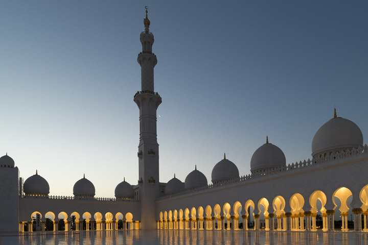 Photograph of Grand Mosque  - Abu Dhabi 39