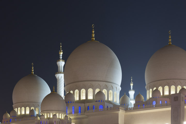 Photograph of Grand Mosque  - Abu Dhabi 4