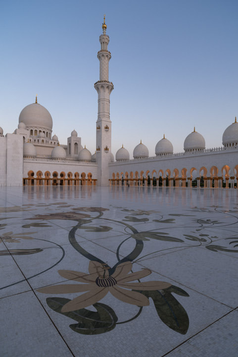 Photograph of Grand Mosque  - Abu Dhabi 41