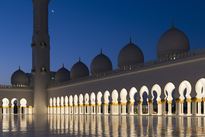 Photograph of Grand Mosque  - Abu Dhabi 48