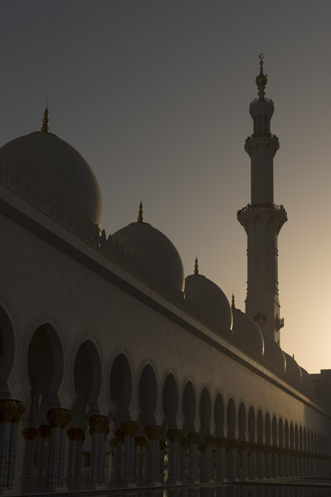 Photograph of Grand Mosque  - Abu Dhabi 51