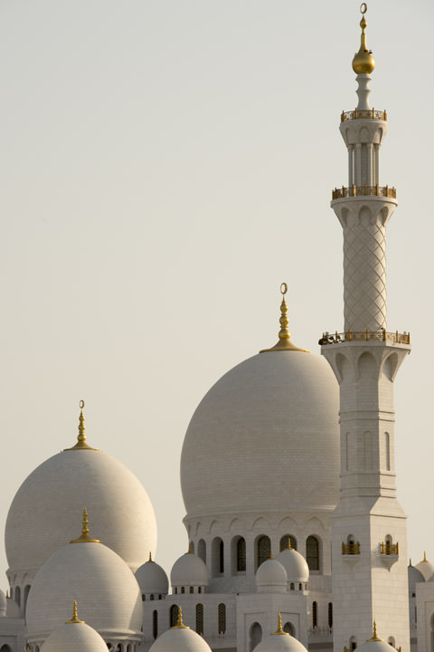 Photograph of Grand Mosque  - Abu Dhabi 7