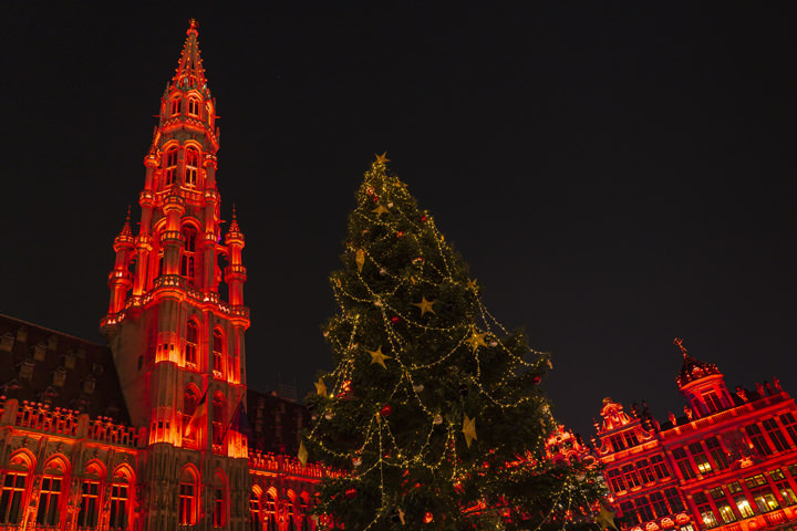 Photograph of Grand Place Christmas