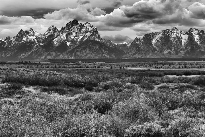 Photograph of Grand Tetons