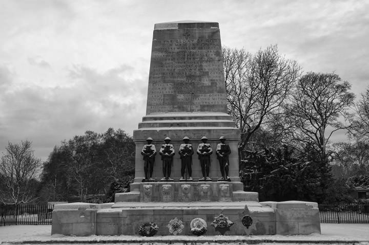 Photograph of Guards Memorial St james Park