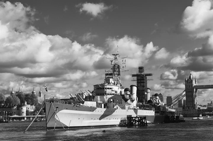 Photograph of HMS Belfast 2