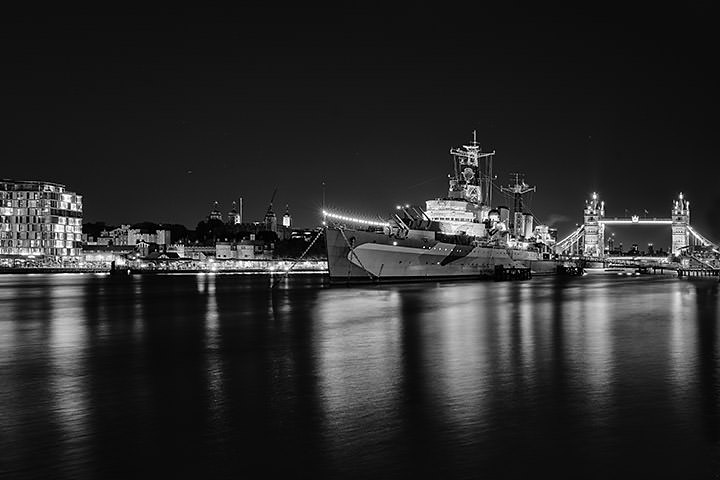 HMS Belfast and Tower Bridge 2