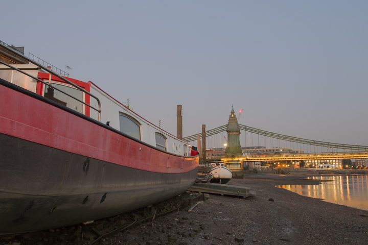 Photograph of Hammersmith Bridge 14