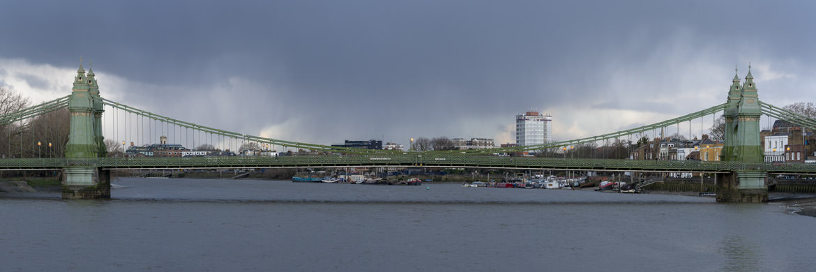 Photograph of Hammersmith Bridge 24