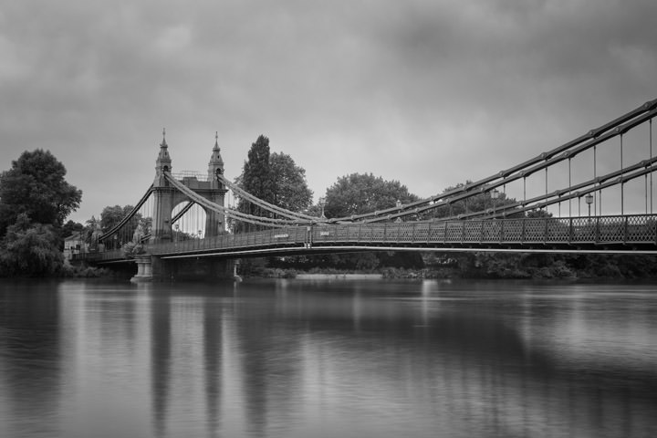 Photograph of Hammersmith Bridge 8