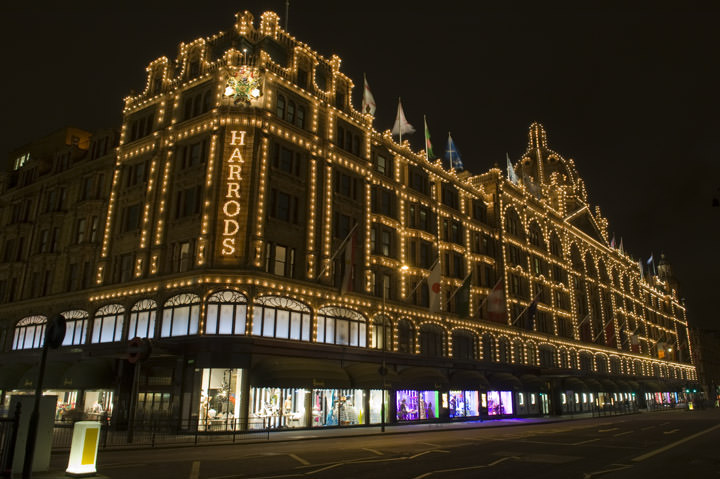 Photograph of Harrods Department Store