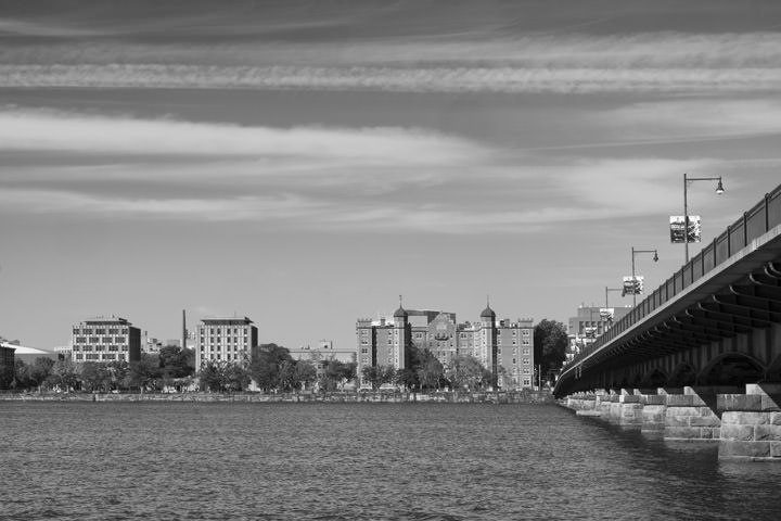 Photograph of Harvard Bridge Boston