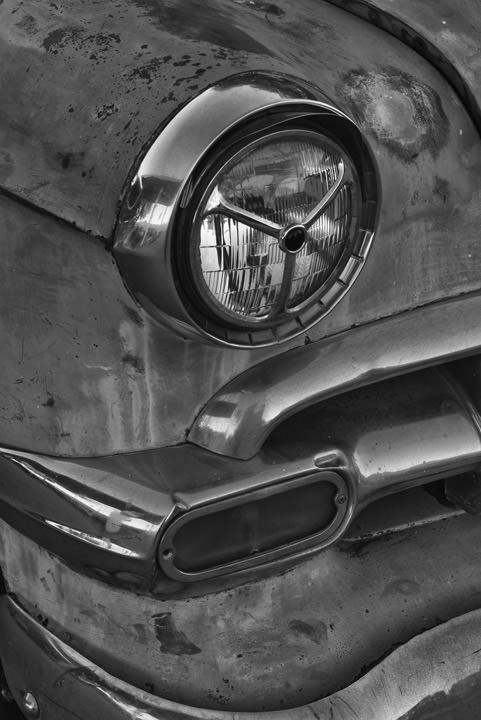 Photograph of Headlight