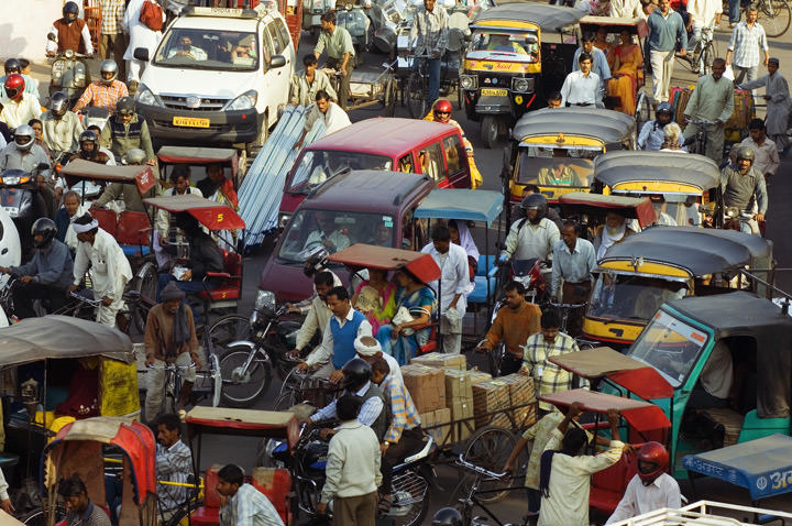 Heavy Traffic Jaipur - India