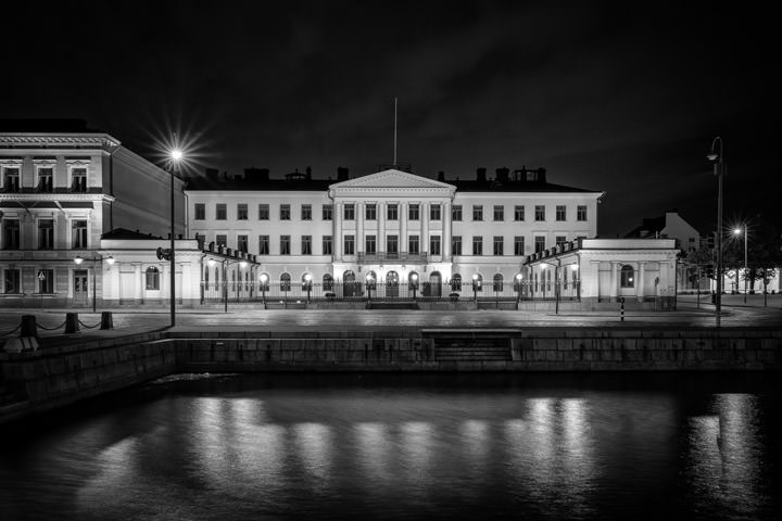 Photograph of Helsinki Presidential Palace 1