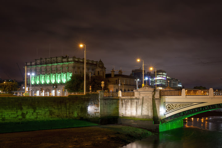 Photograph of Heuston Station