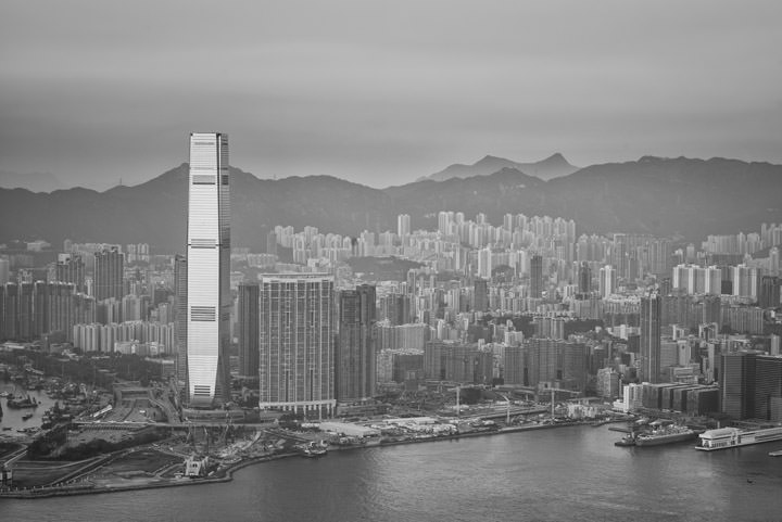 Photograph of Hong Kong Cityscape 2
