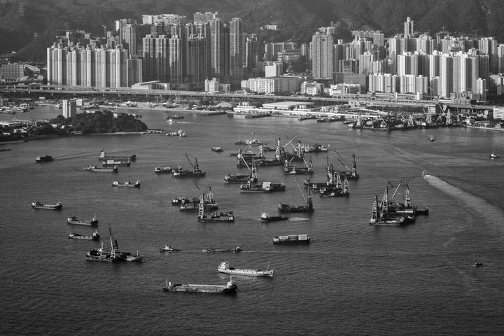 Photograph of Hong Kong Harbour 1