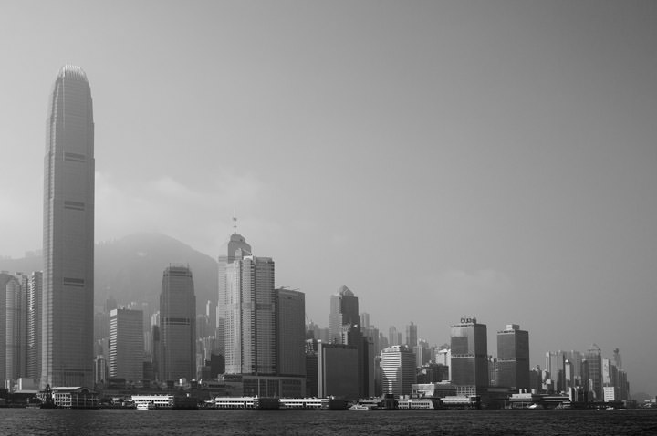Photograph of Hong Kong Skyline 1