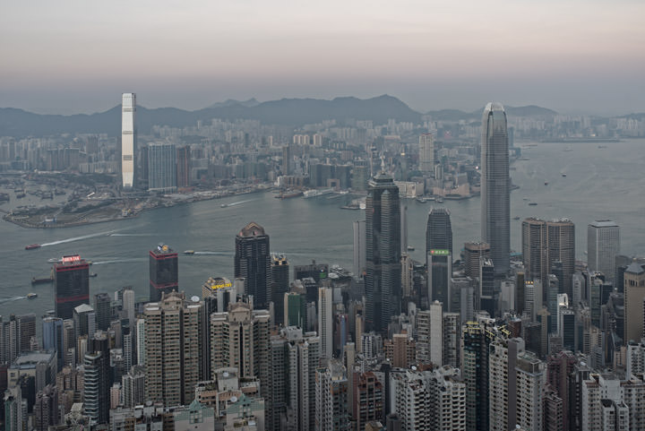 Photograph of Hong Kong Skyline 12