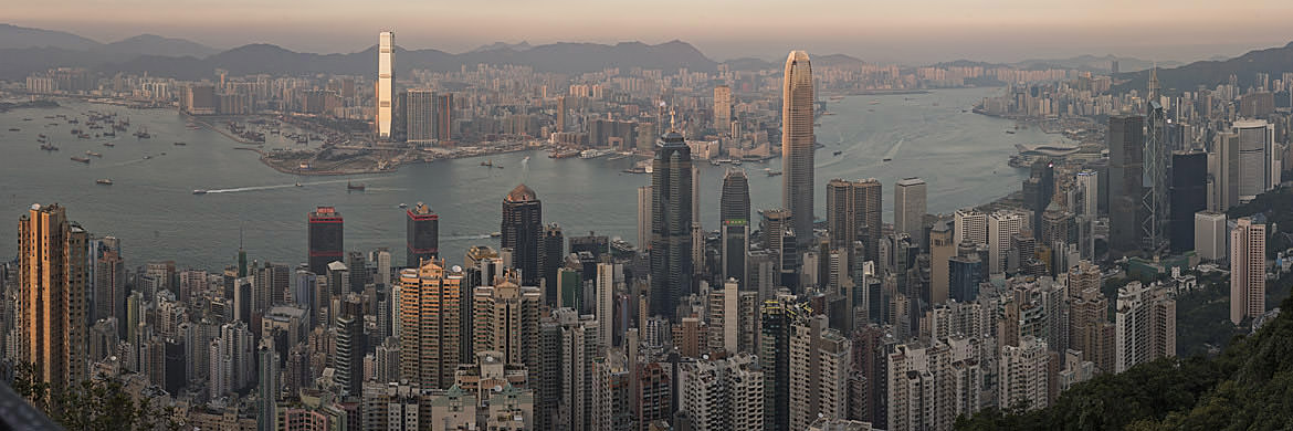 Photograph of Hong Kong Skyline 14