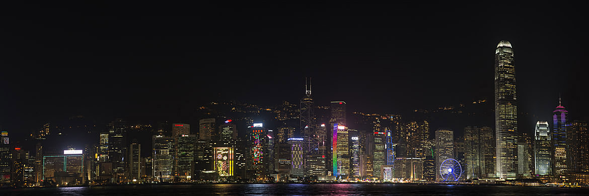 Photograph of Hong Kong Skyline 16