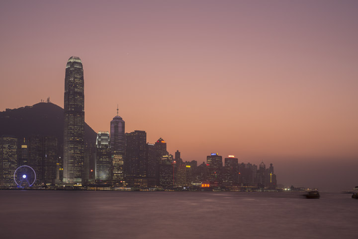 Photograph of Hong Kong Skyline 17
