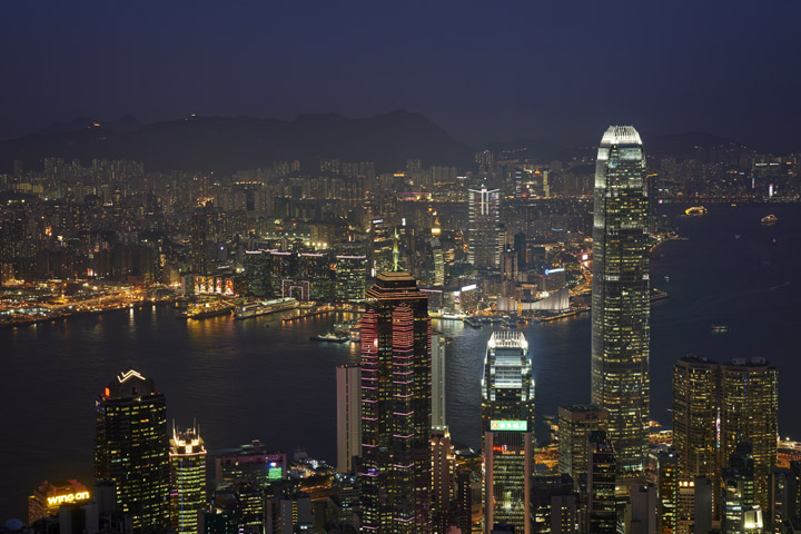 Photograph of Hong Kong Skyline 19