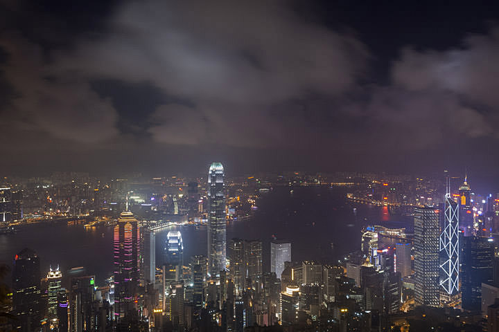Photograph of Hong Kong Skyline 2