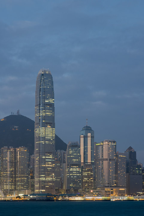 Photograph of Hong Kong Skyline 20