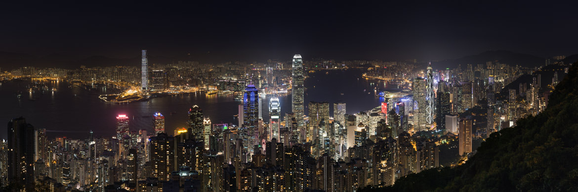 Photograph of Hong Kong Skyline 22