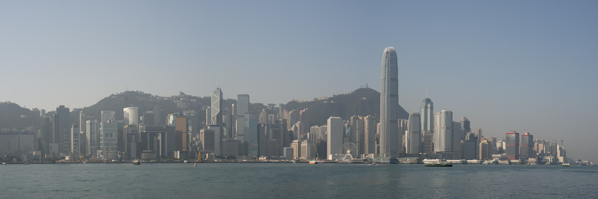Photograph of Hong Kong Skyline 24
