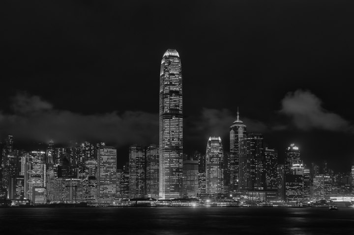 Photograph of Hong Kong Skyline 3