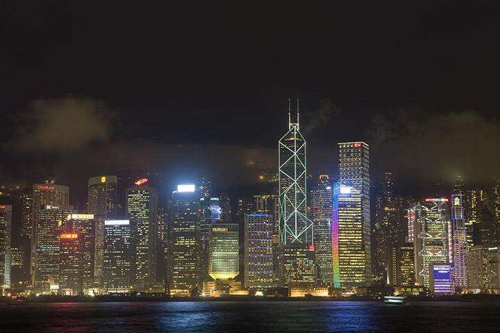 Photograph of Hong Kong Skyline 4